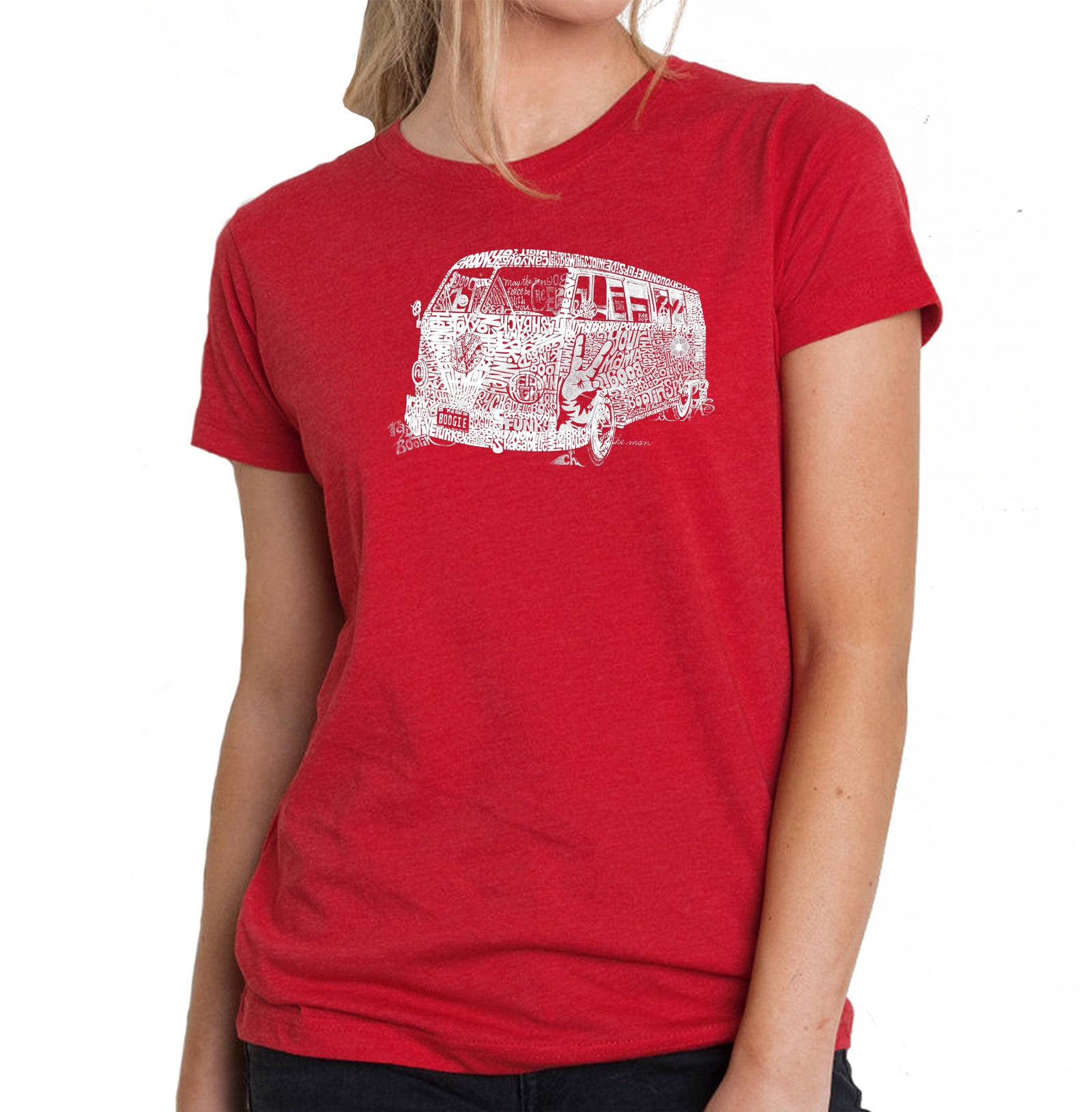 Women's Premium Blend Word Art T-shirt - THE 70'S