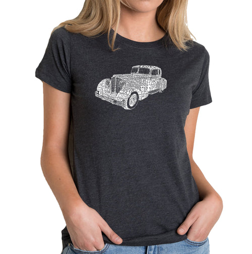 Women's Premium Blend Word Art T-shirt - Mobsters