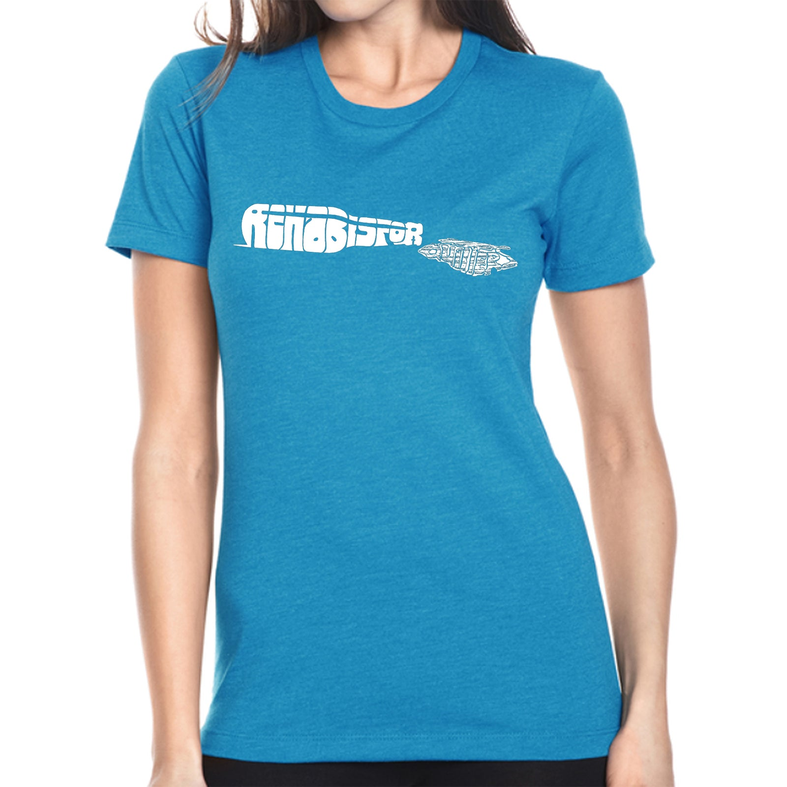 Women's Premium Blend Word Art T-shirt - REHAB IS FOR QUITTERS
