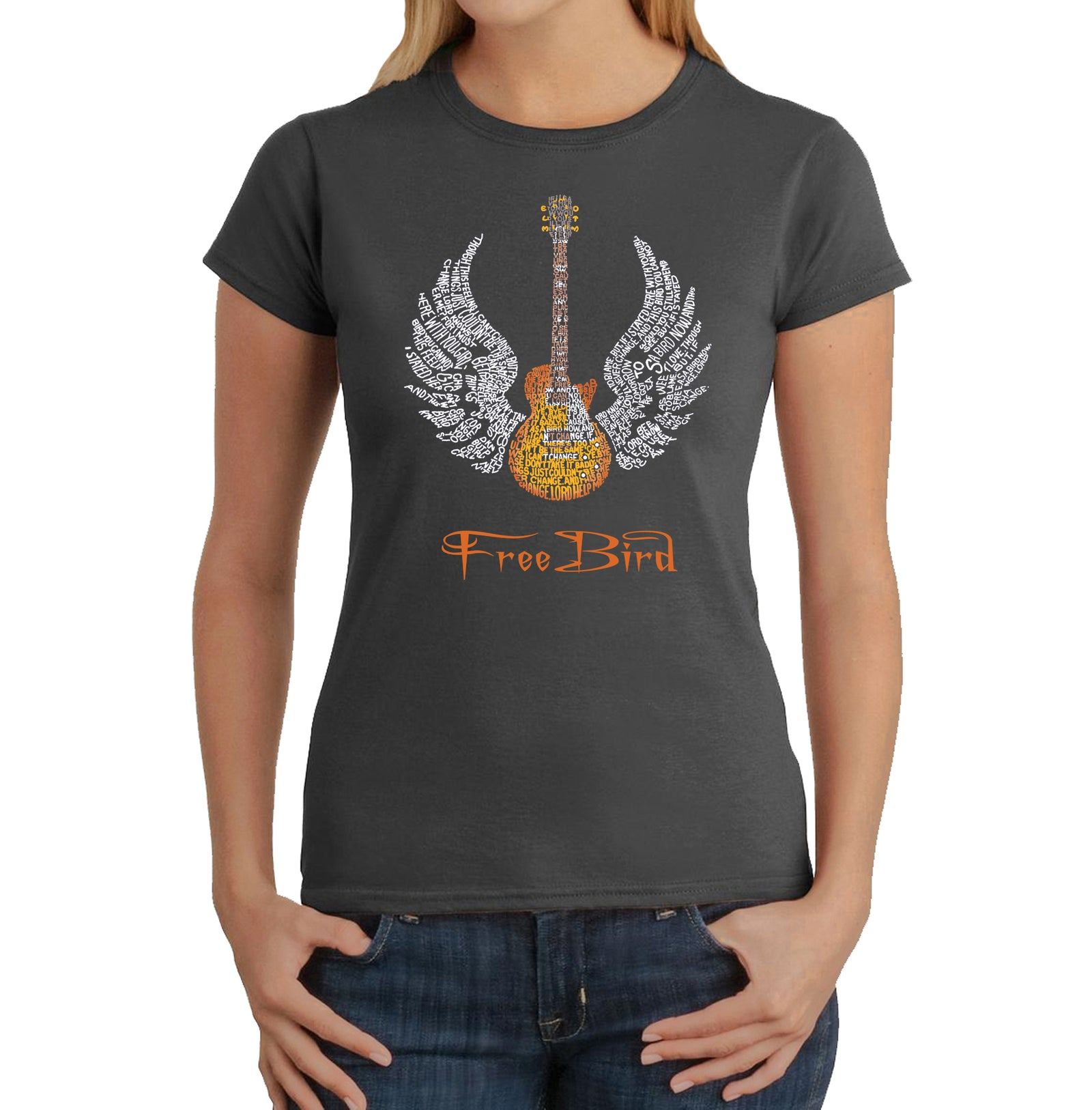 Women's T-Shirt - LYRICS TO FREEBIRD