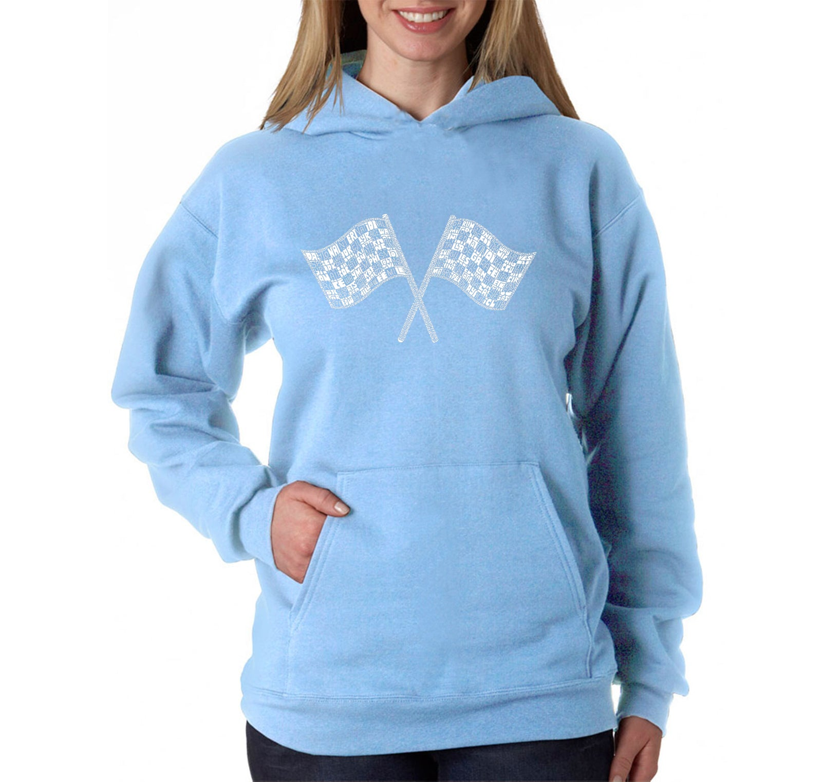 Women's Hooded Sweatshirt -NASCAR NATIONAL SERIES RACE TRACKS
