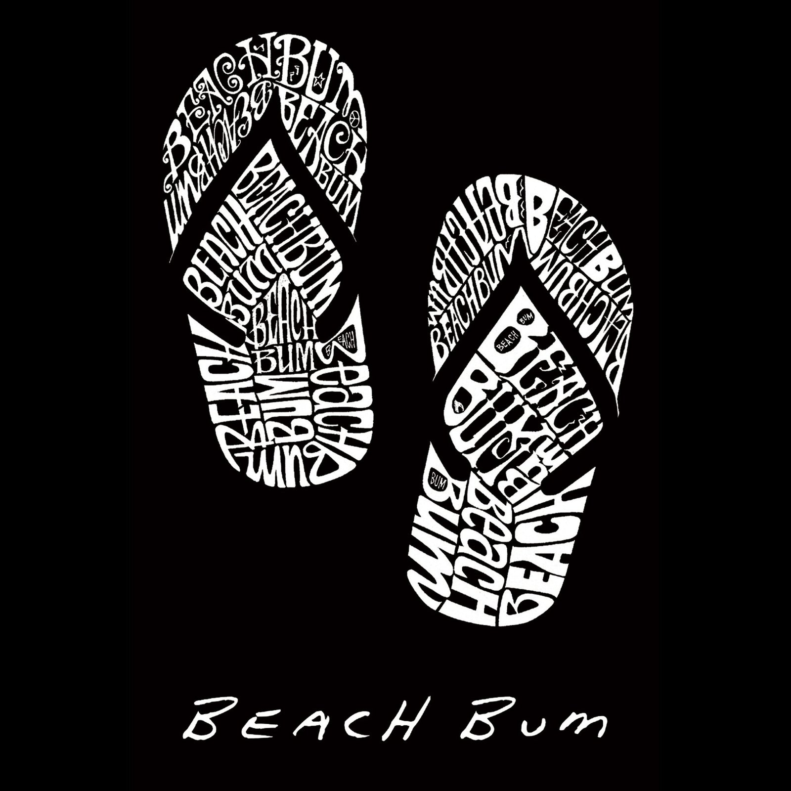 Large Tote Bag - BEACH BUM