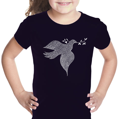 Girl's T-shirt - FLEUR DE LIS - POPULAR LOUISIANA CITIES