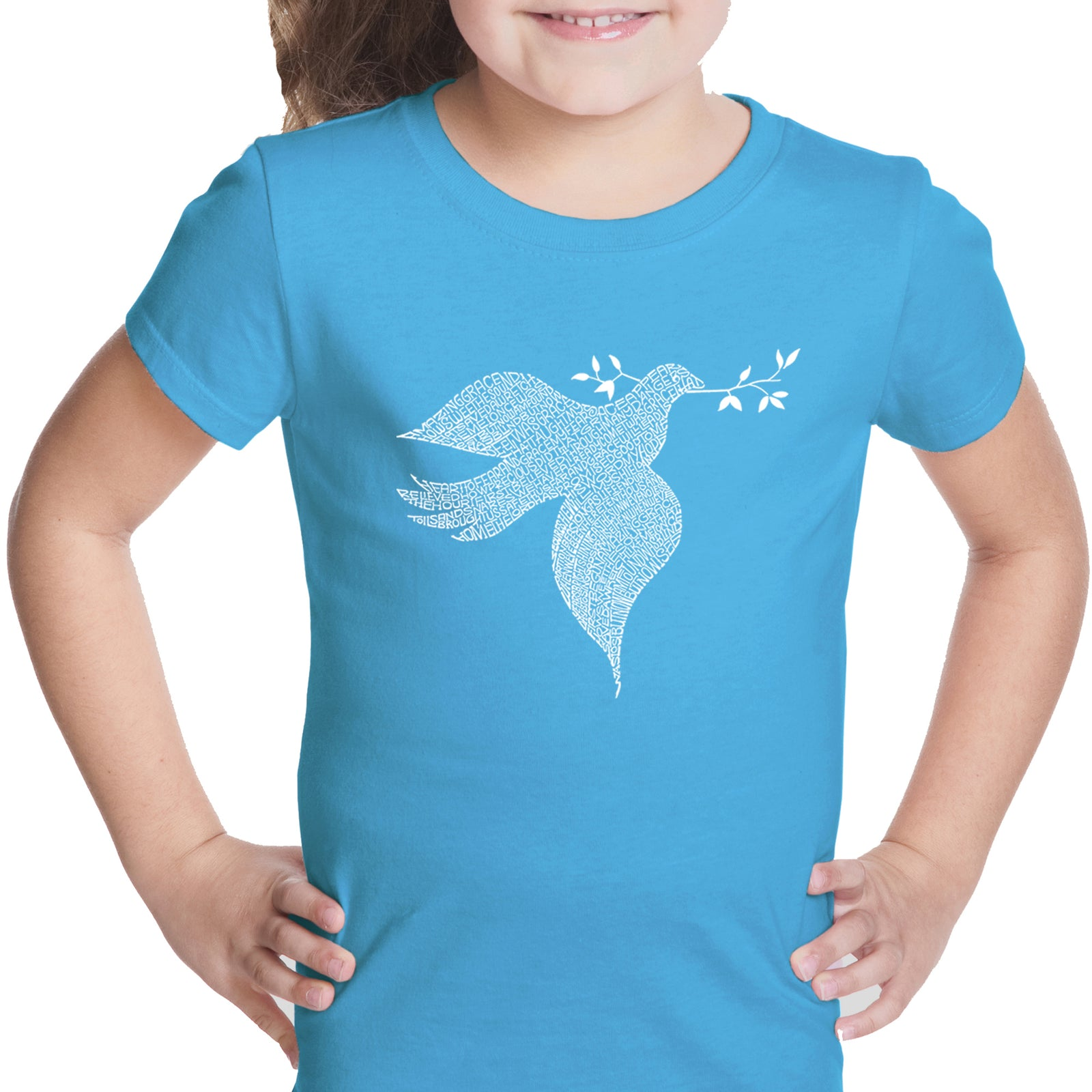 Girl's T-shirt - Dove