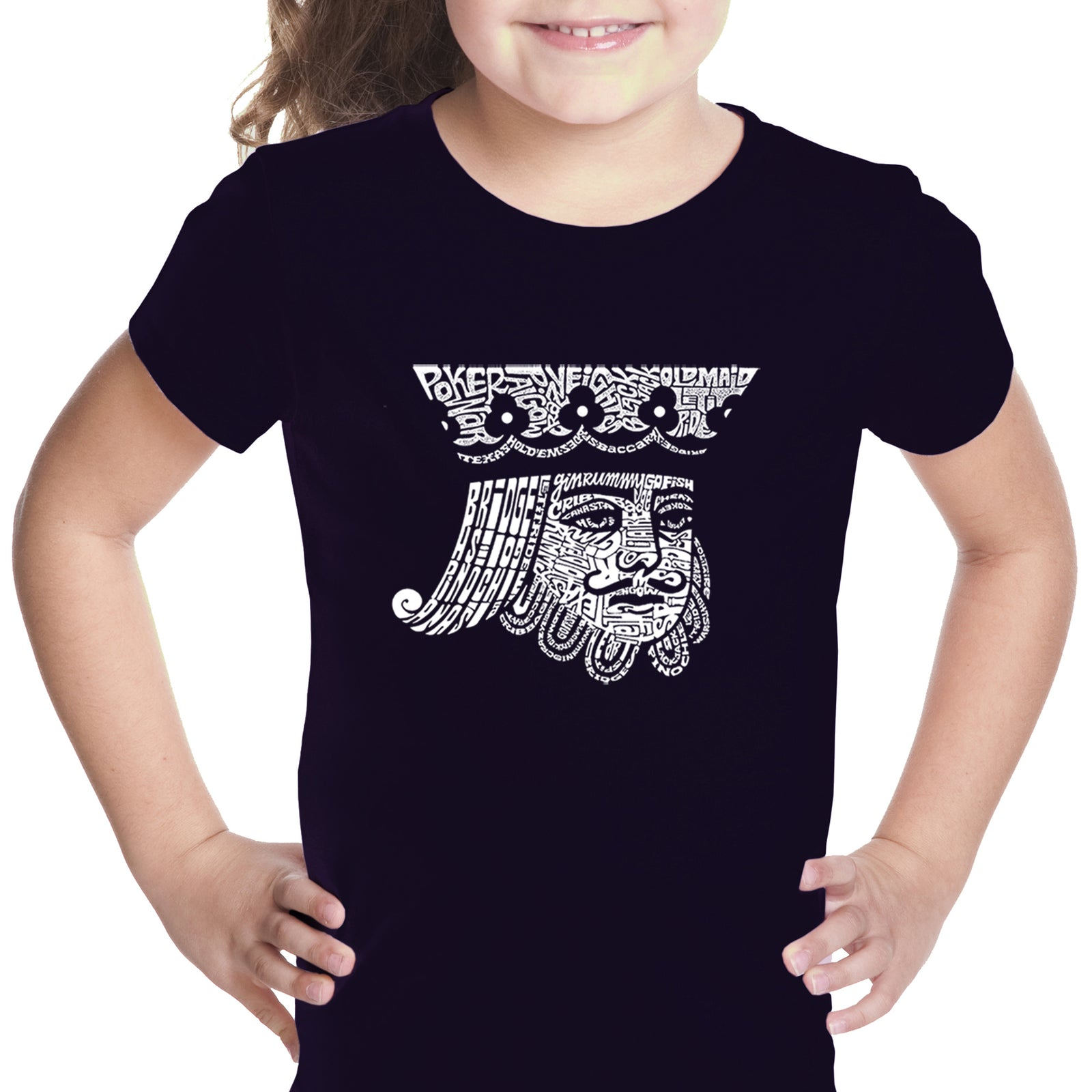 Girl's T-shirt - King of Spades