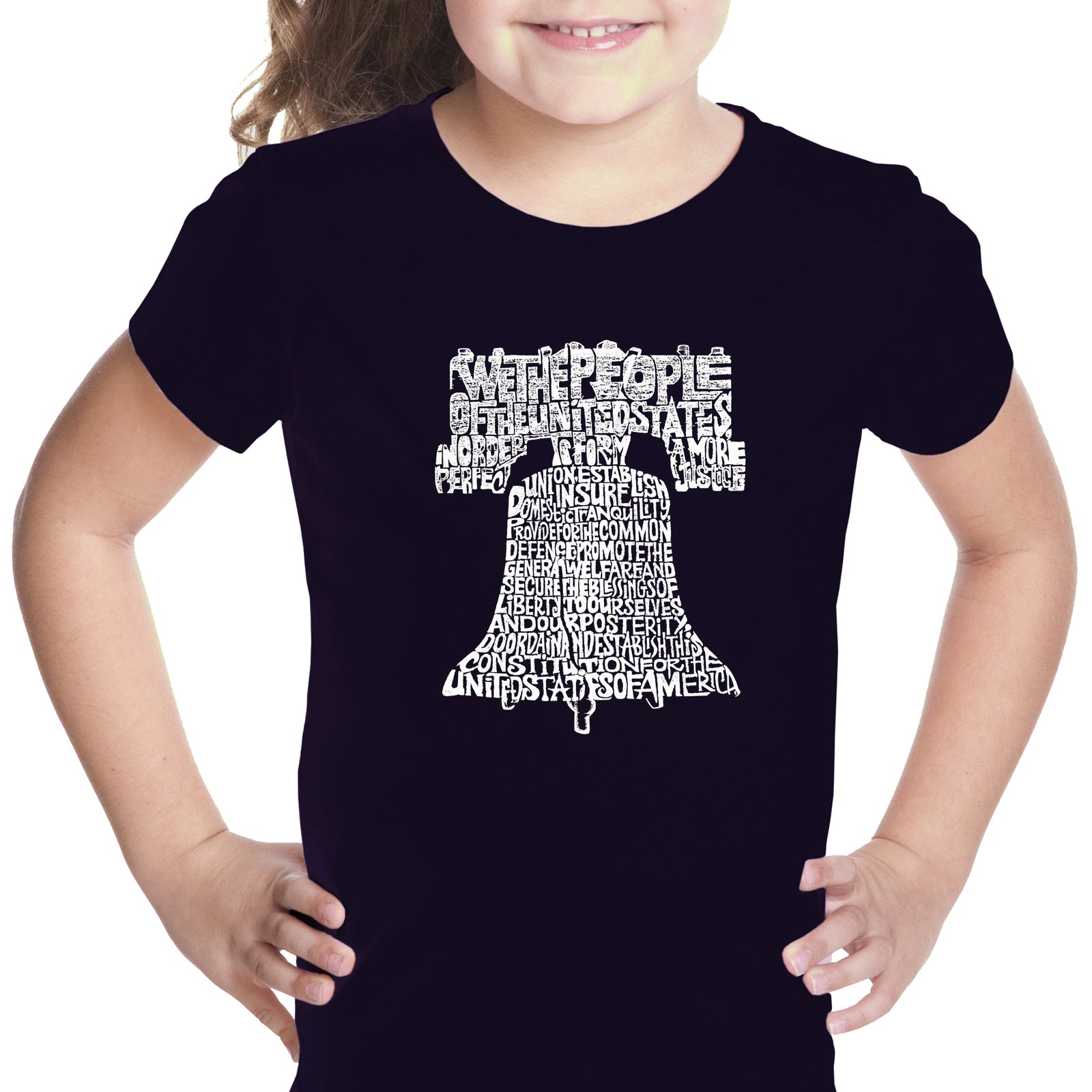 Girl's T-shirt - Liberty Bell