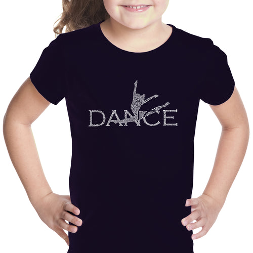 Girl's T-shirt - Dancer