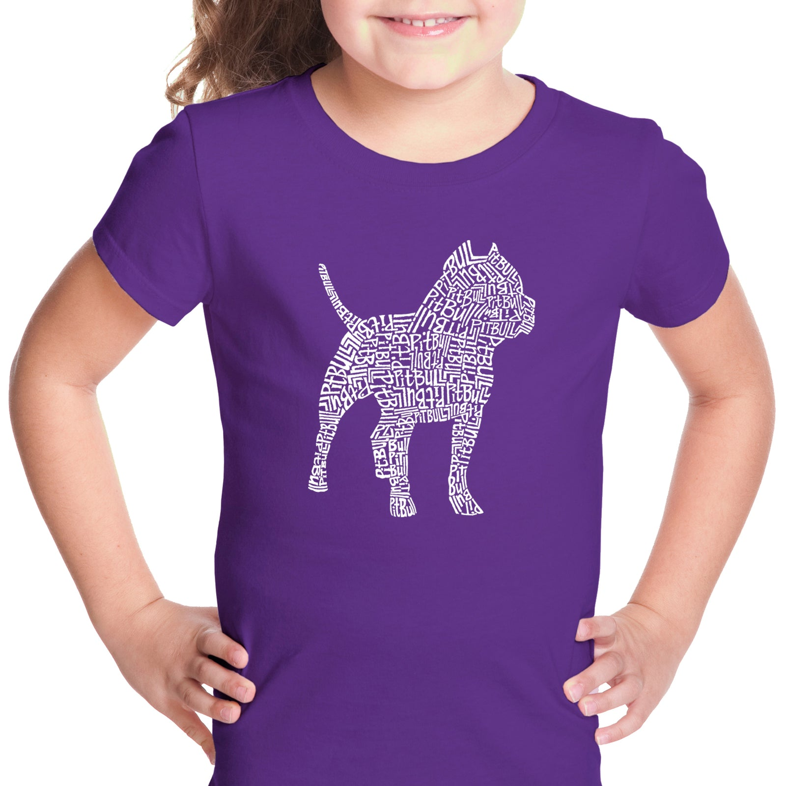 Girl's T-shirt - Pitbull