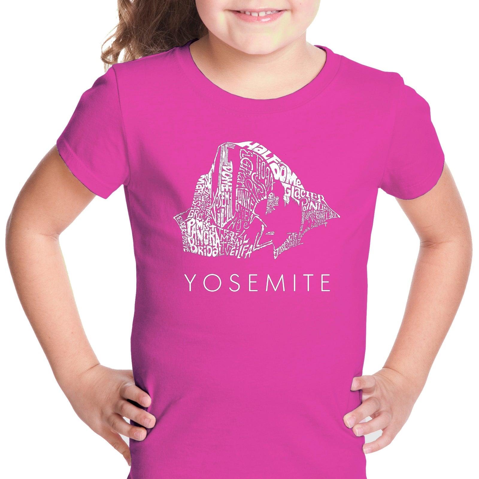 Girl's T-shirt - Yosemite