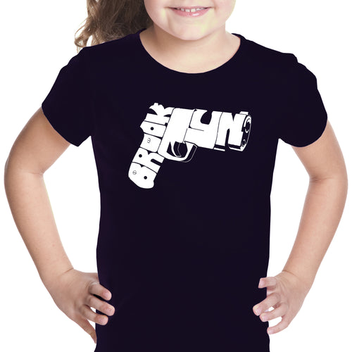 Girl's T-shirt - BROOKLYN GUN