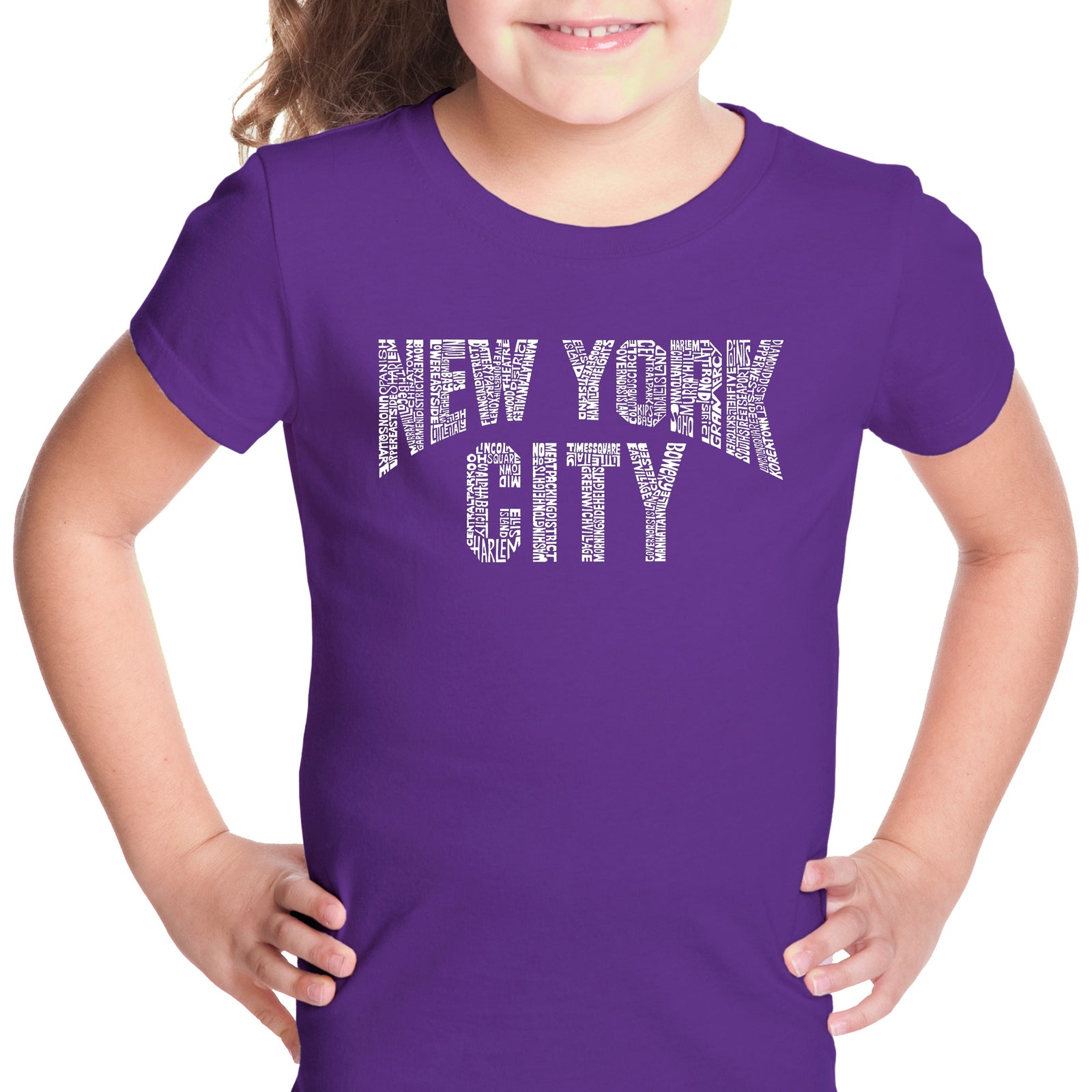 Girl's T-shirt - NYC NEIGHBORHOODS