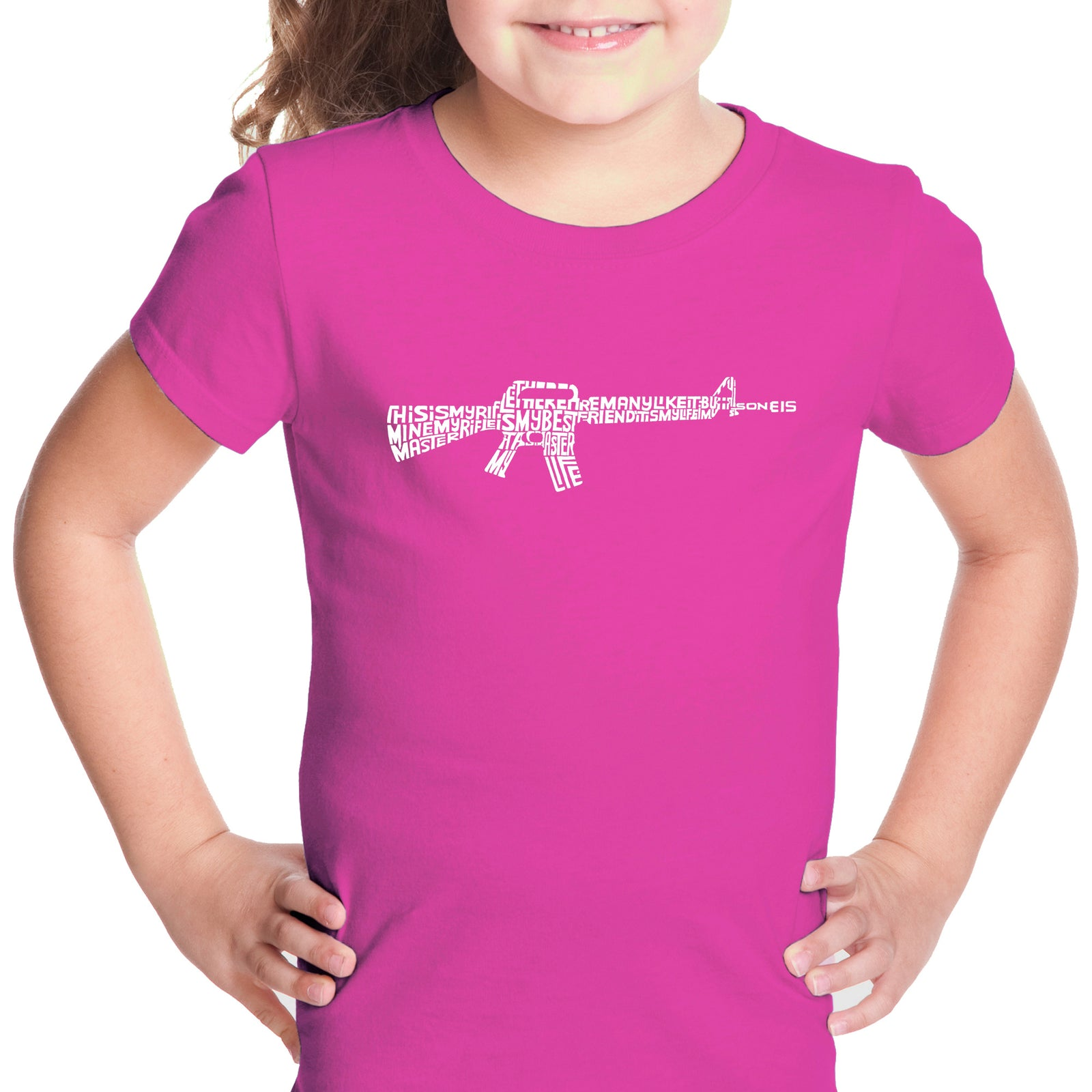 Girl's T-shirt - RIFLEMANS CREED