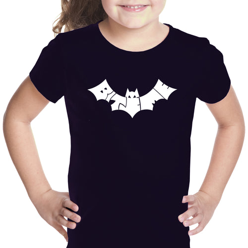 Girl's T-shirt - BAT - BITE ME