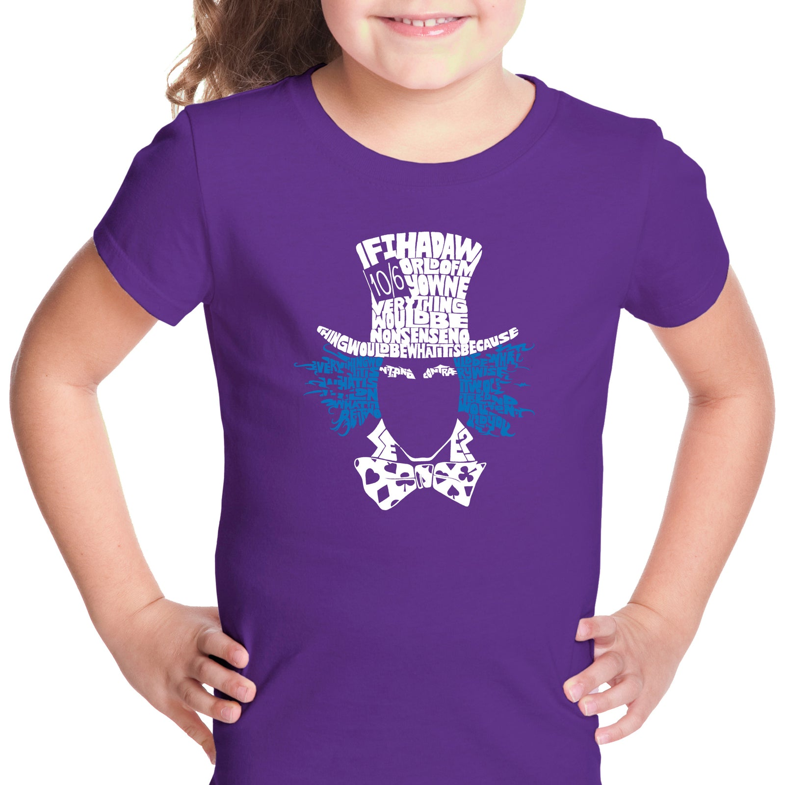 Girl's T-shirt - The Mad Hatter