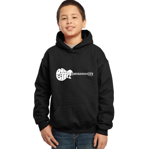 Boy's Hooded Sweatshirt - Don't Stop Believin'