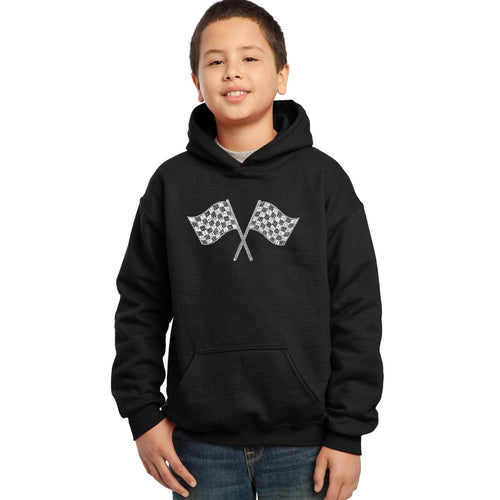Boy's Hooded Sweatshirt - NASCAR NATIONAL SERIES RACE TRACKS