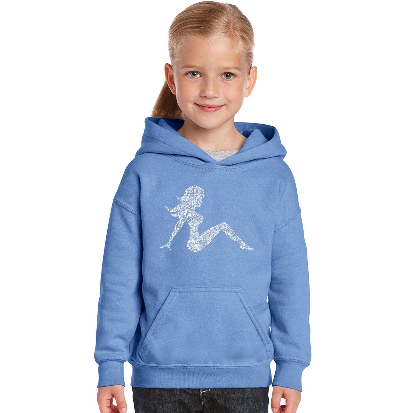 Girl's Hooded Sweatshirt - MUDFLAP GIRL