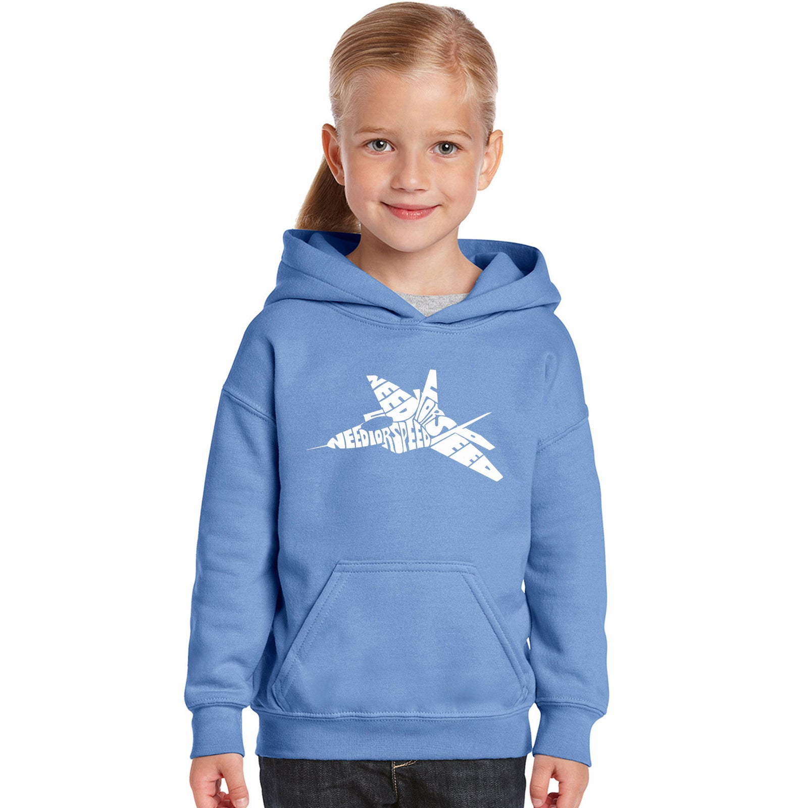 Girl's Hooded Sweatshirt - FIGHTER JET - NEED FOR SPEED
