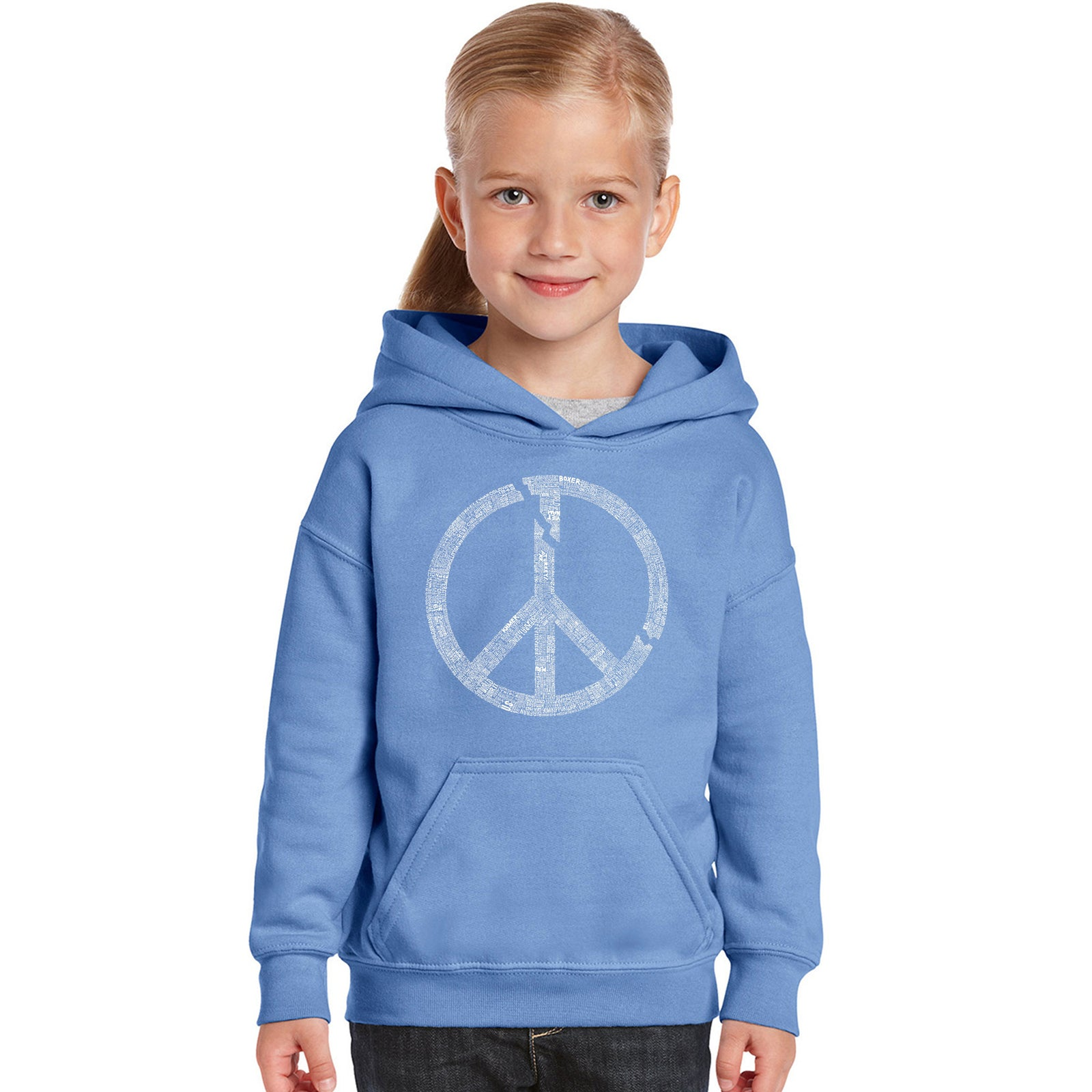 Girl's Hooded Sweatshirt - EVERY MAJOR WORLD CONFLICT SINCE 1770