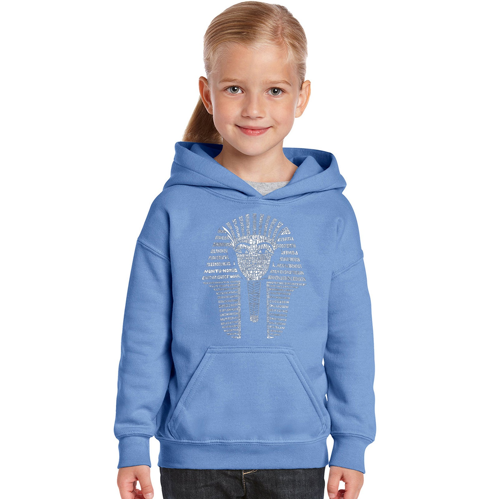 Girl's Hooded Sweatshirt - KING TUT