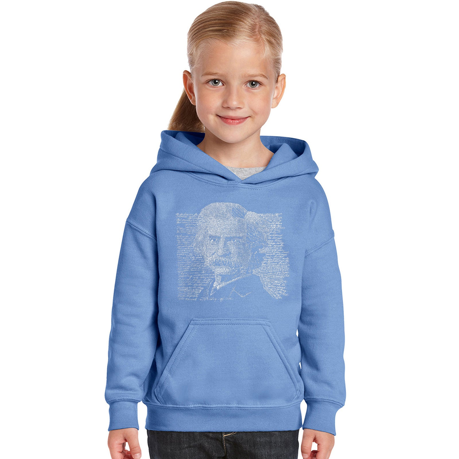 Girl's Hooded Sweatshirt - Mark Twain