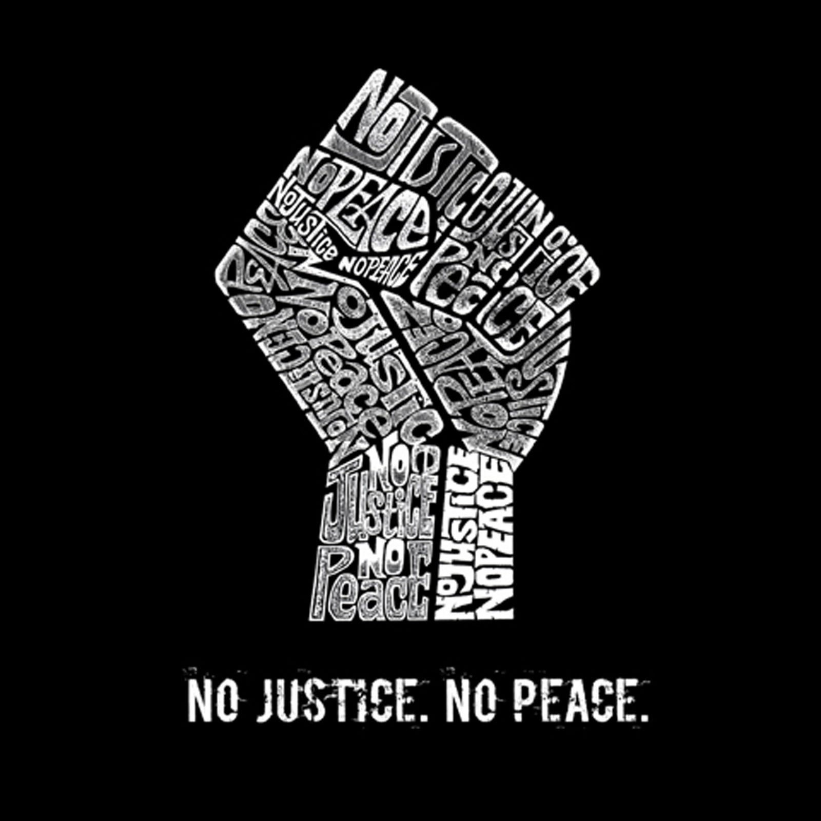 Small Tote Bag - No Justice, No Peace