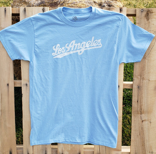 "Men's Limited Edition T-shirt - Los Angeles ""Word Art"" Neighborhoods"