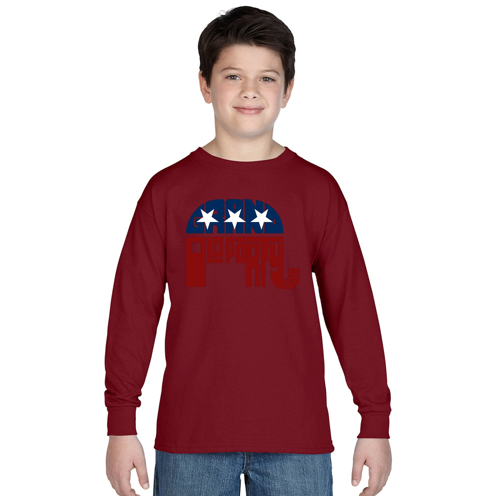 Boy's Long Sleeve - REPUBLICAN - GRAND OLD PARTY