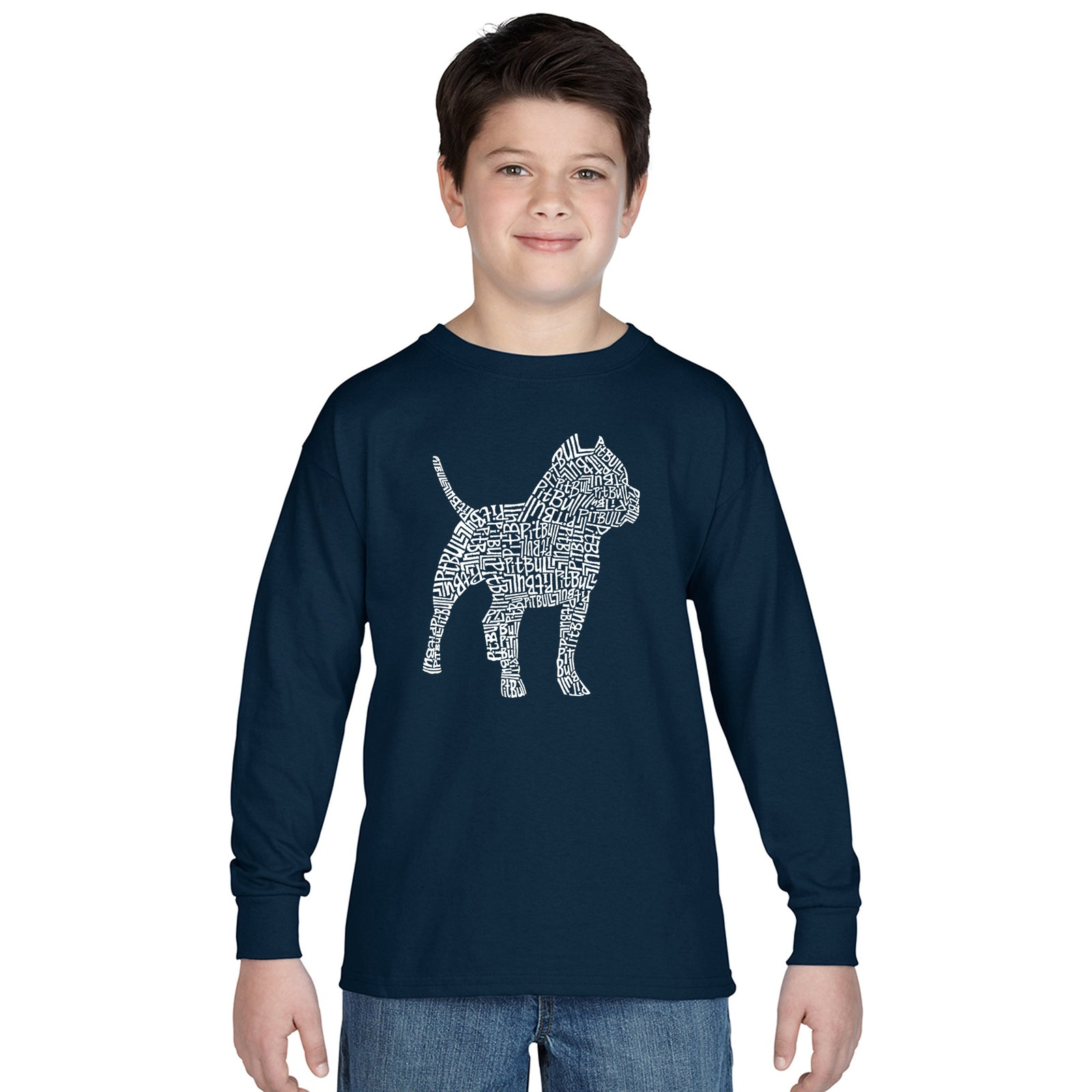 Boy's Long Sleeve - Pitbull