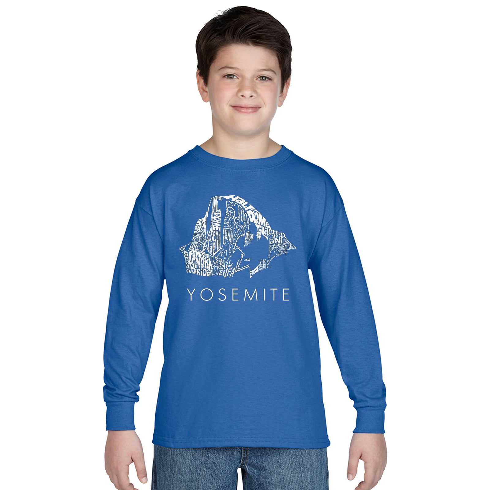 Boy's Long Sleeve - Yosemite