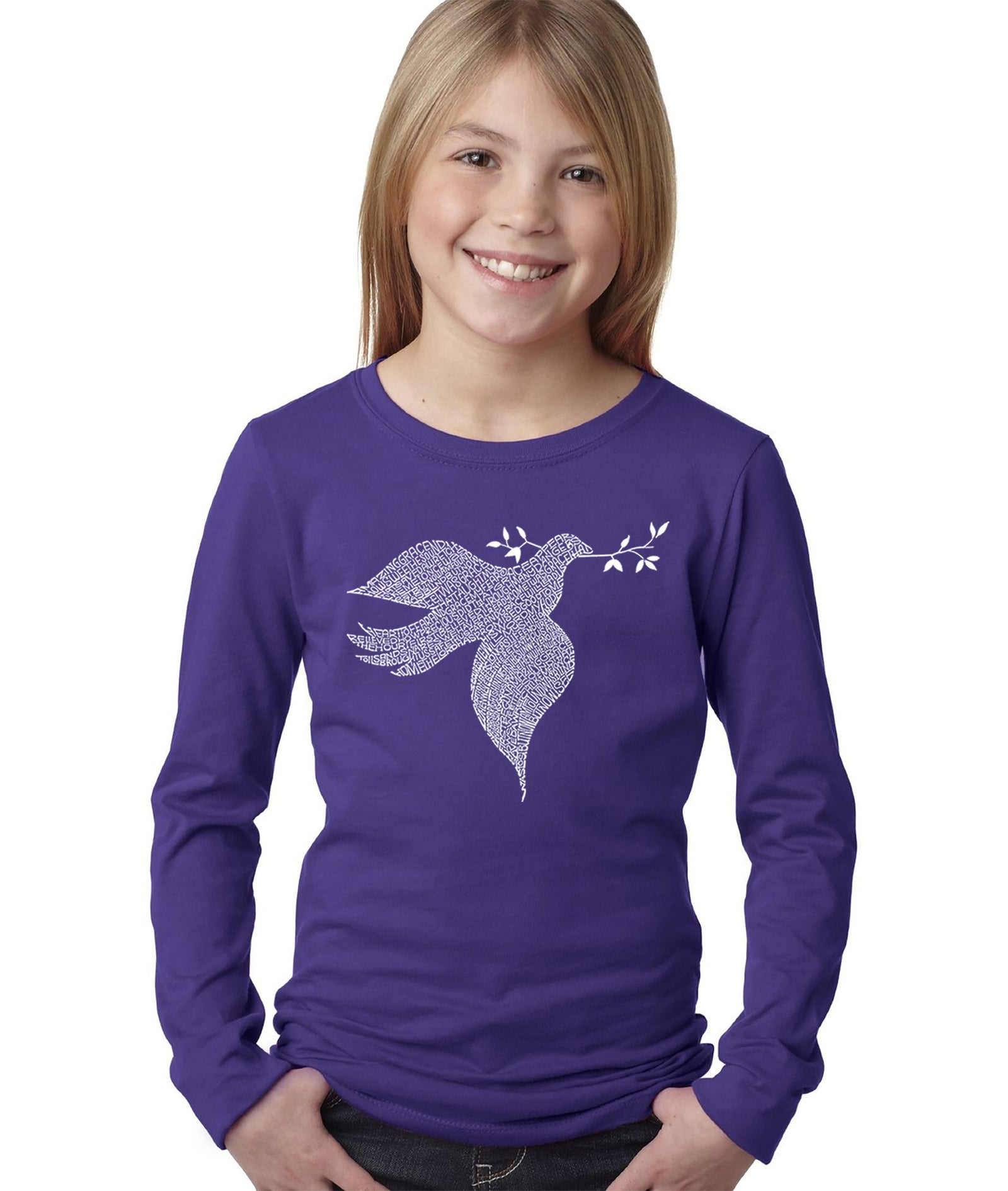Girl's Long Sleeve - Dove