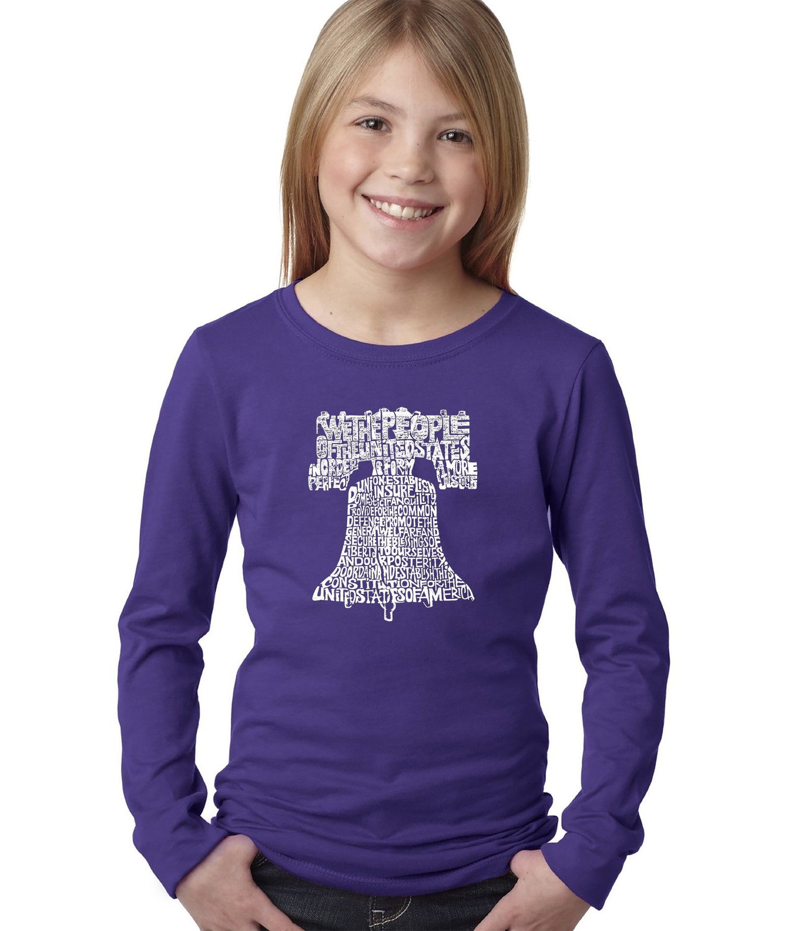 Girl's Long Sleeve - Liberty Bell