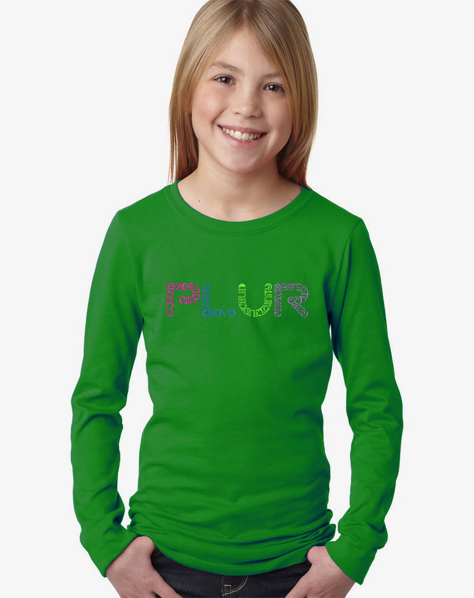 Girl's Long Sleeve - PLUR
