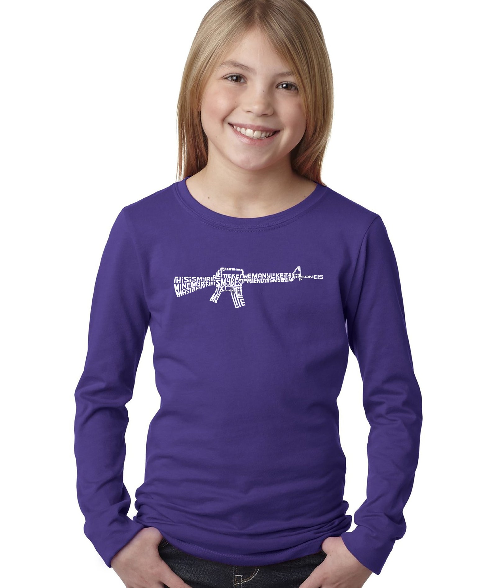 Girl's Long Sleeve - RIFLEMANS CREED