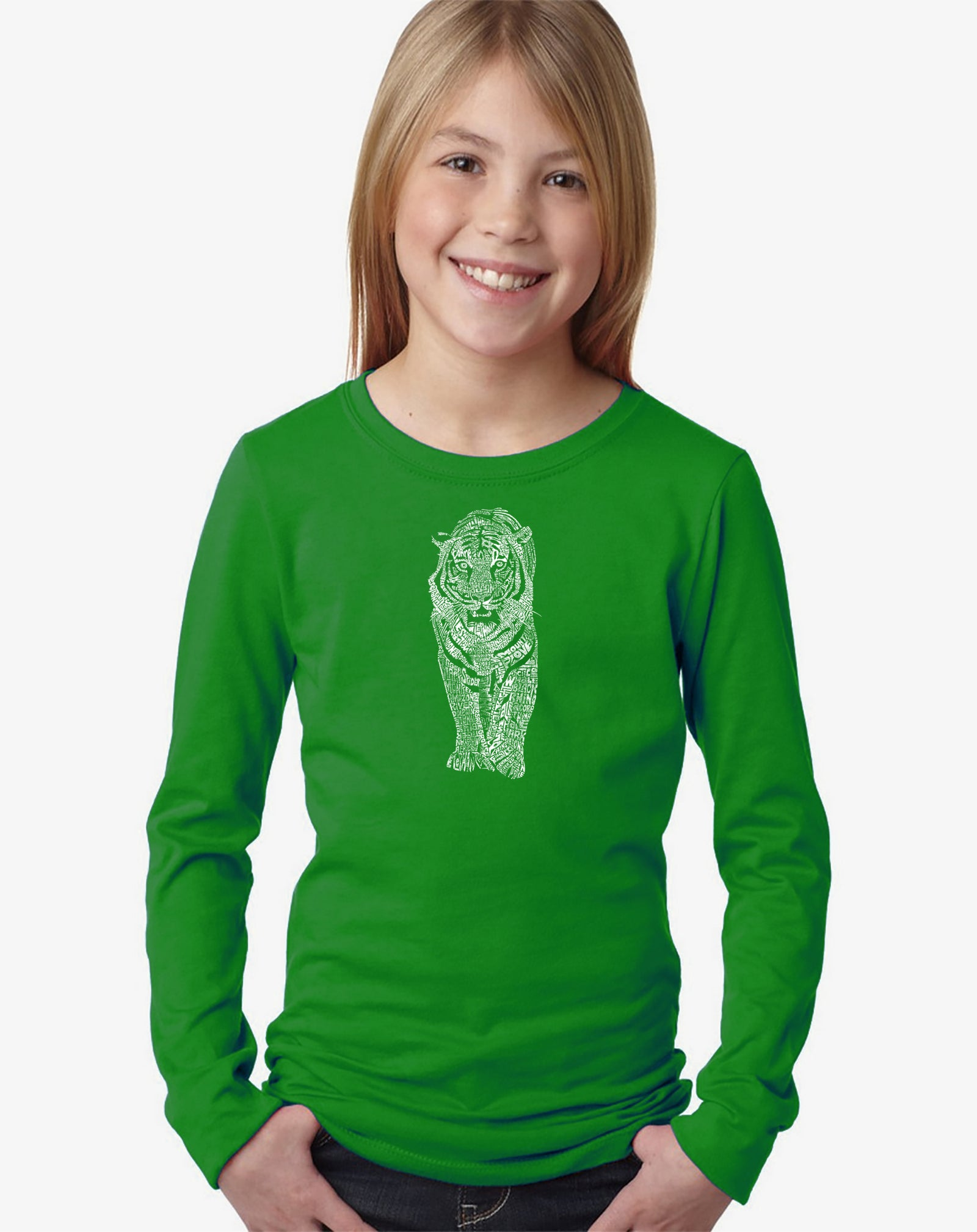 Girl's Long Sleeve - TIGER
