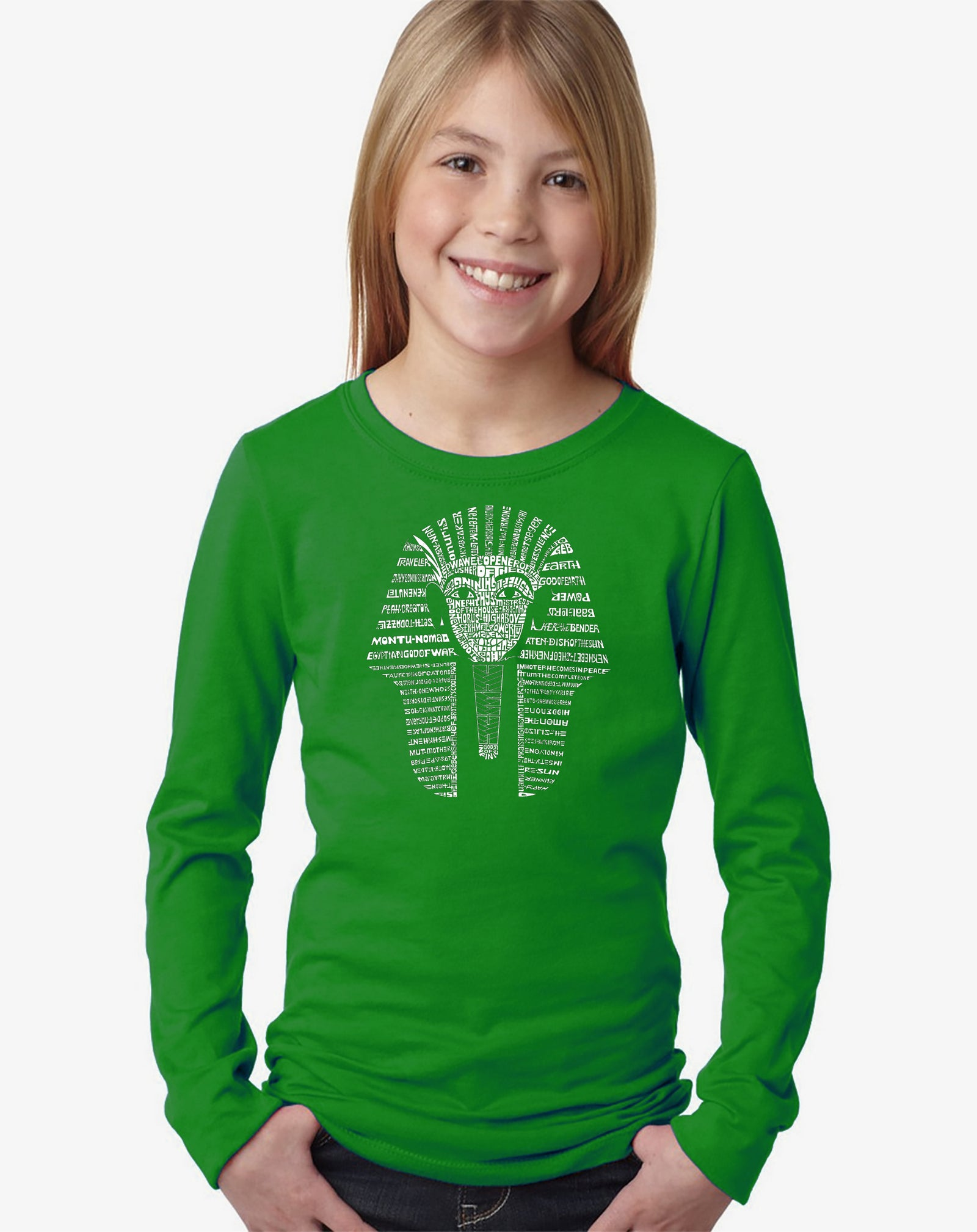 Girl's Long Sleeve - KING TUT
