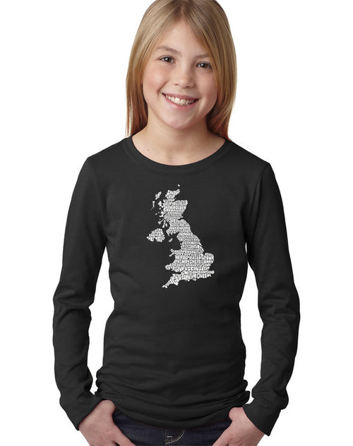 Girl's Long Sleeve - GOD SAVE THE QUEEN