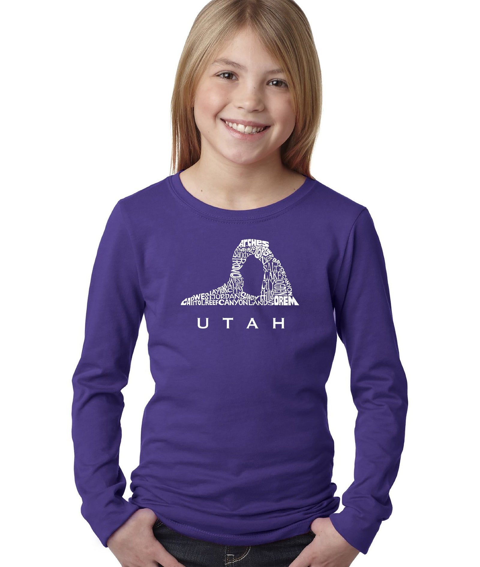 Girl's Long Sleeve - Utah