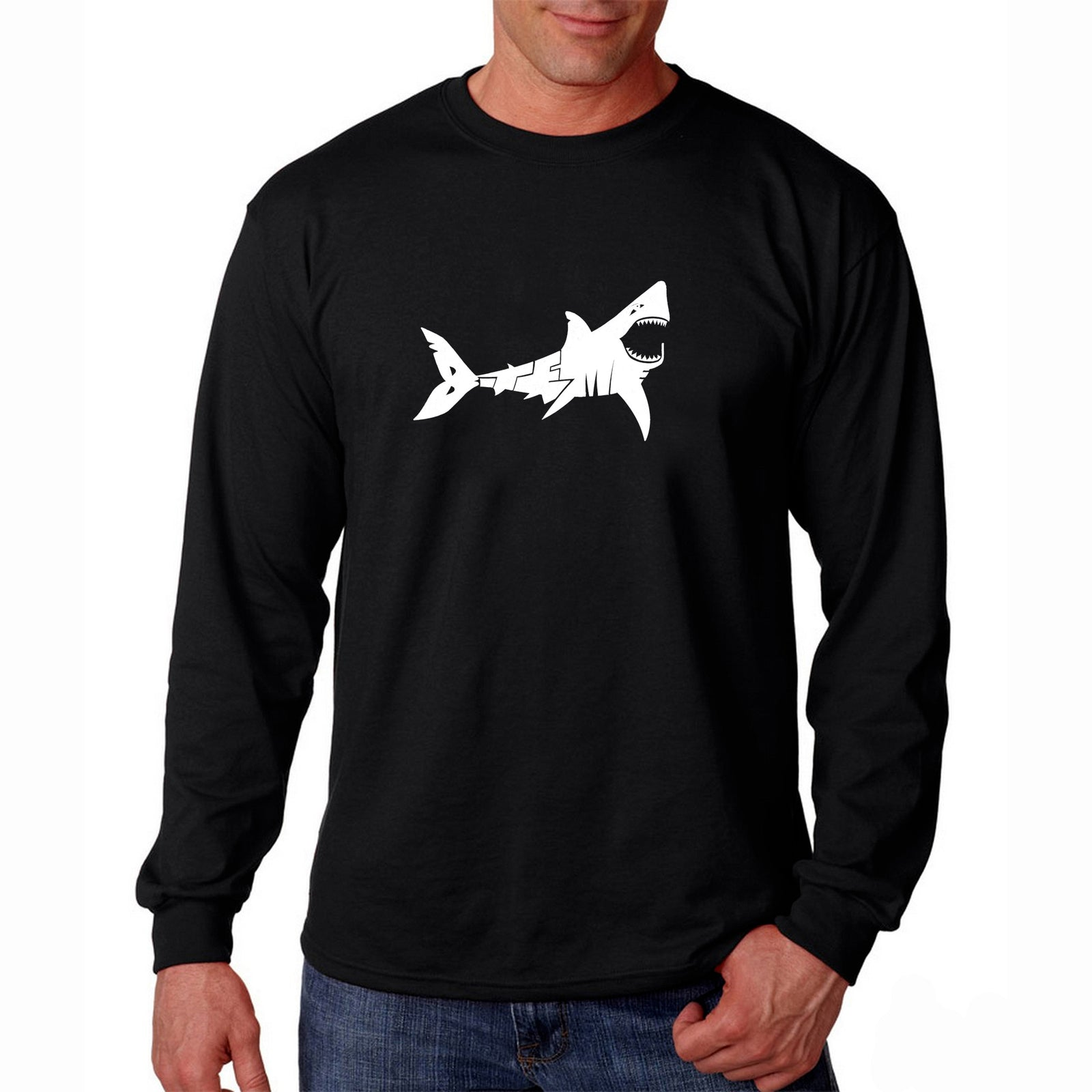 Men's Long Sleeve T-shirt - BITE ME