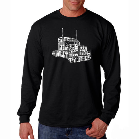 Men's Long Sleeve T-shirt - WASHINGTON DC NEIGHBORHOODS