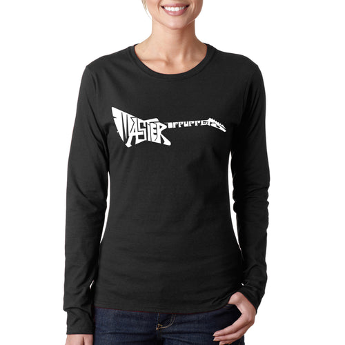 Women's Long Sleeve T-Shirt - Master of Puppets