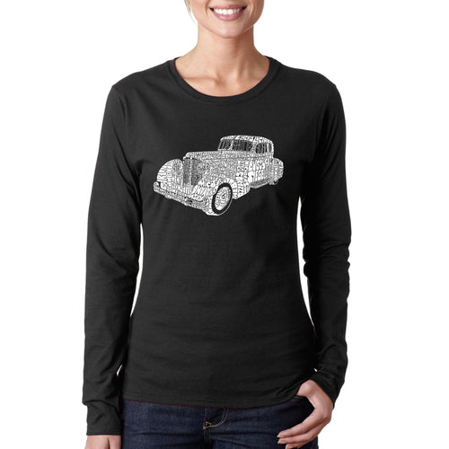 Women's Long Sleeve T-Shirt - Mobsters