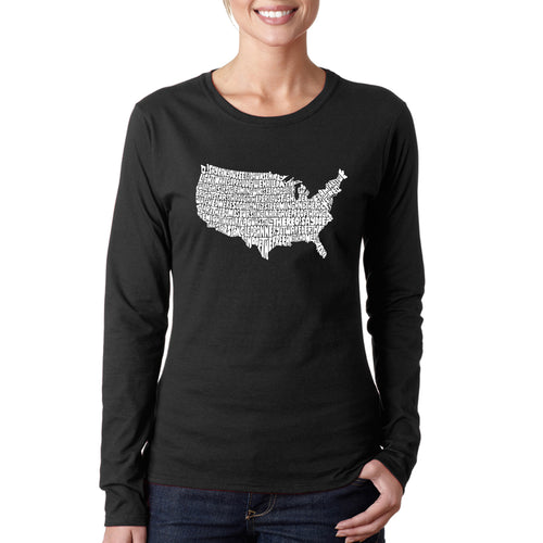 Women's Long Sleeve T-Shirt - THE STAR SPANGLED BANNER