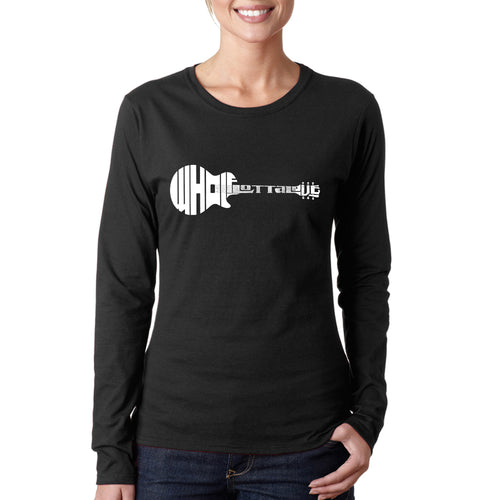 Women's Long Sleeve T-Shirt - Whole Lotta Love