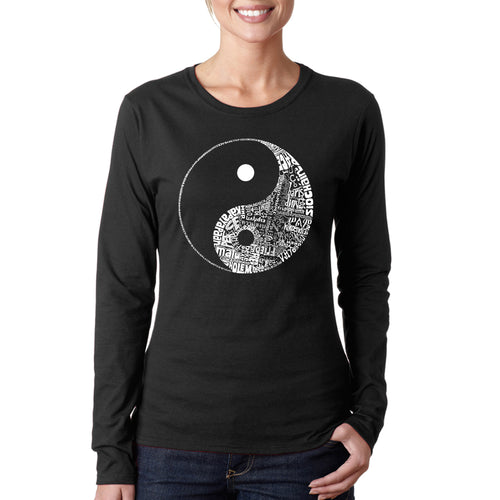 Women's Long Sleeve T-Shirt - YIN YANG