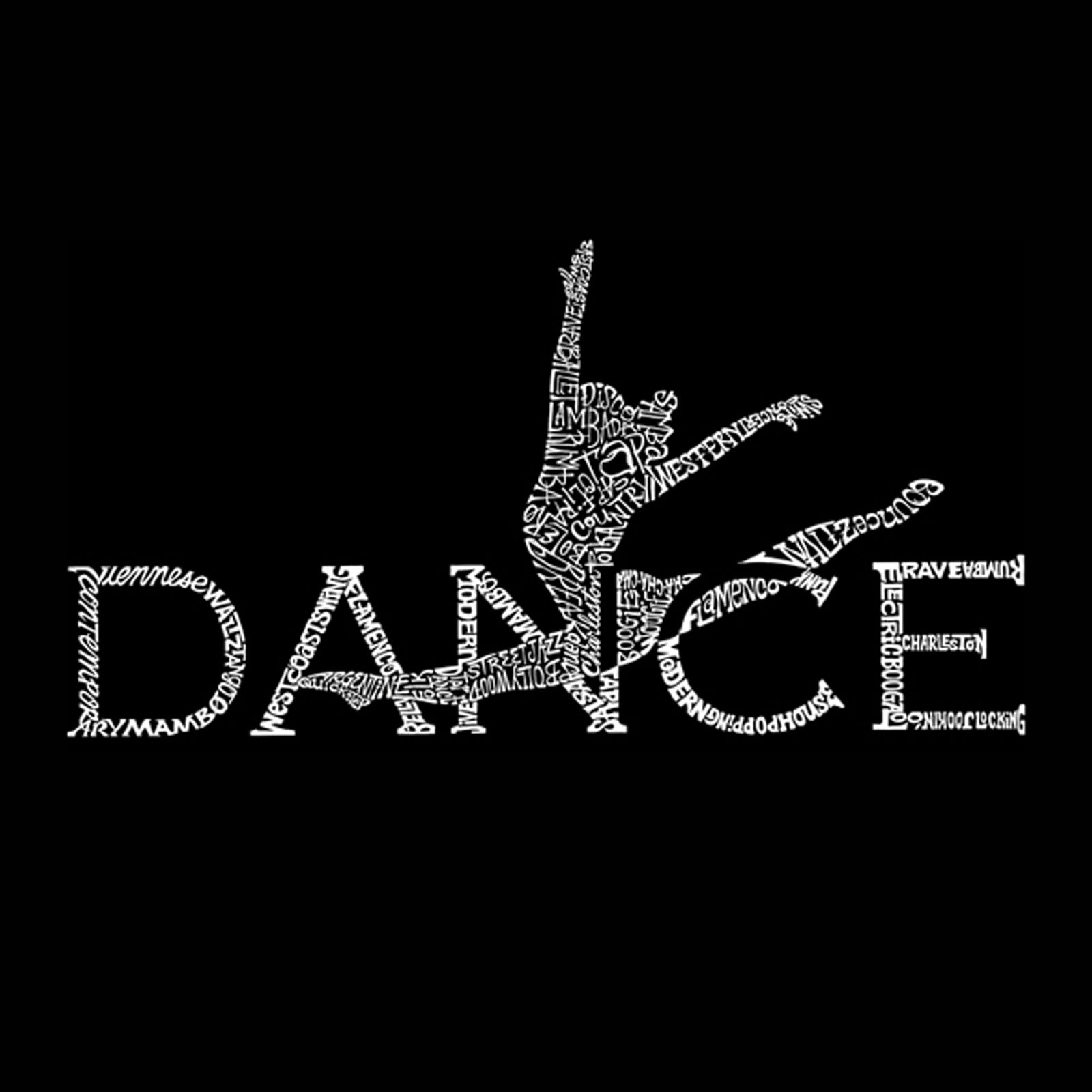 Women's Premium Blend Word Art T-shirt - Dancer