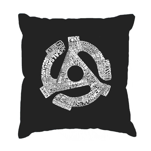 Throw Pillow Cover - Record Adapter