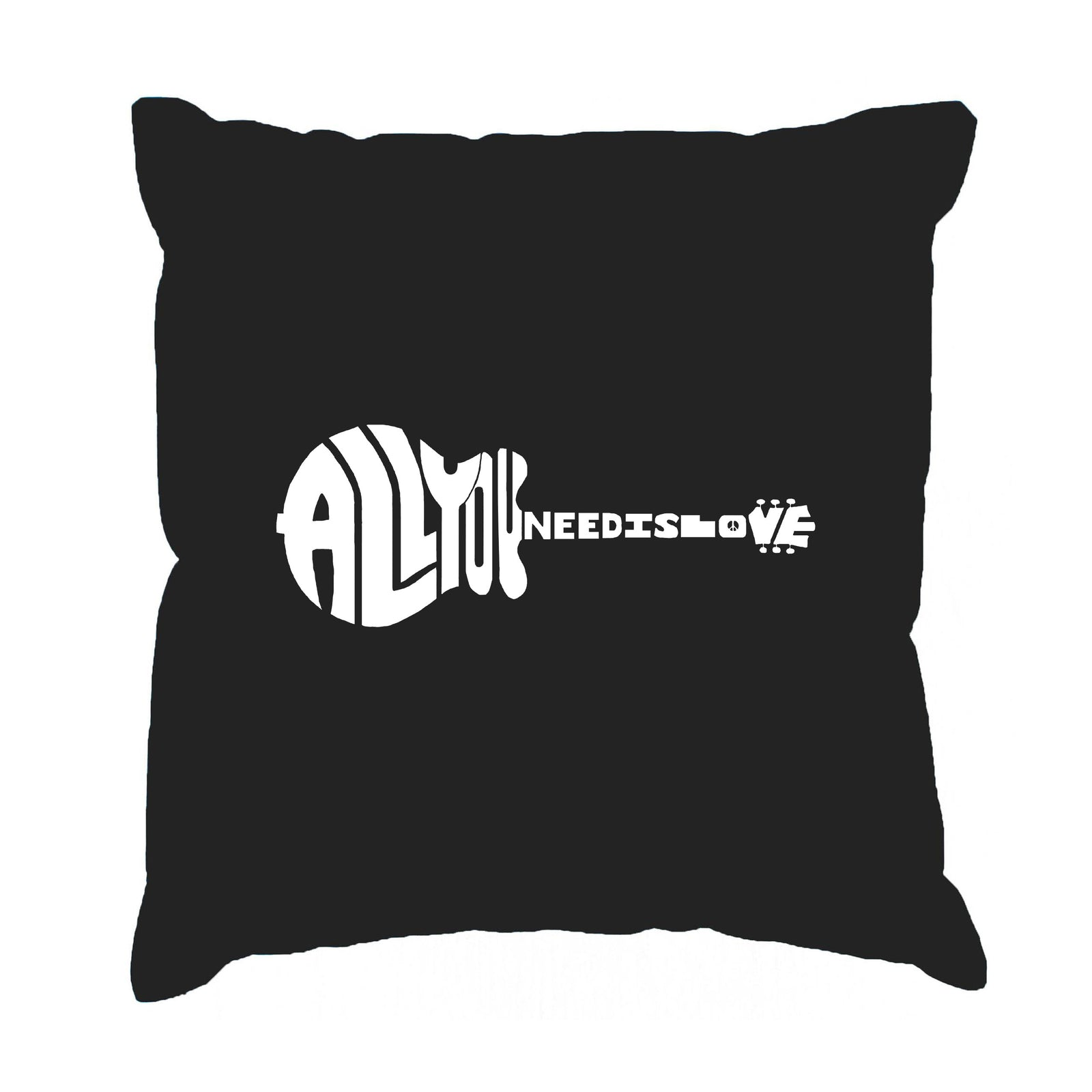 Throw Pillow Cover - All You Need Is Love