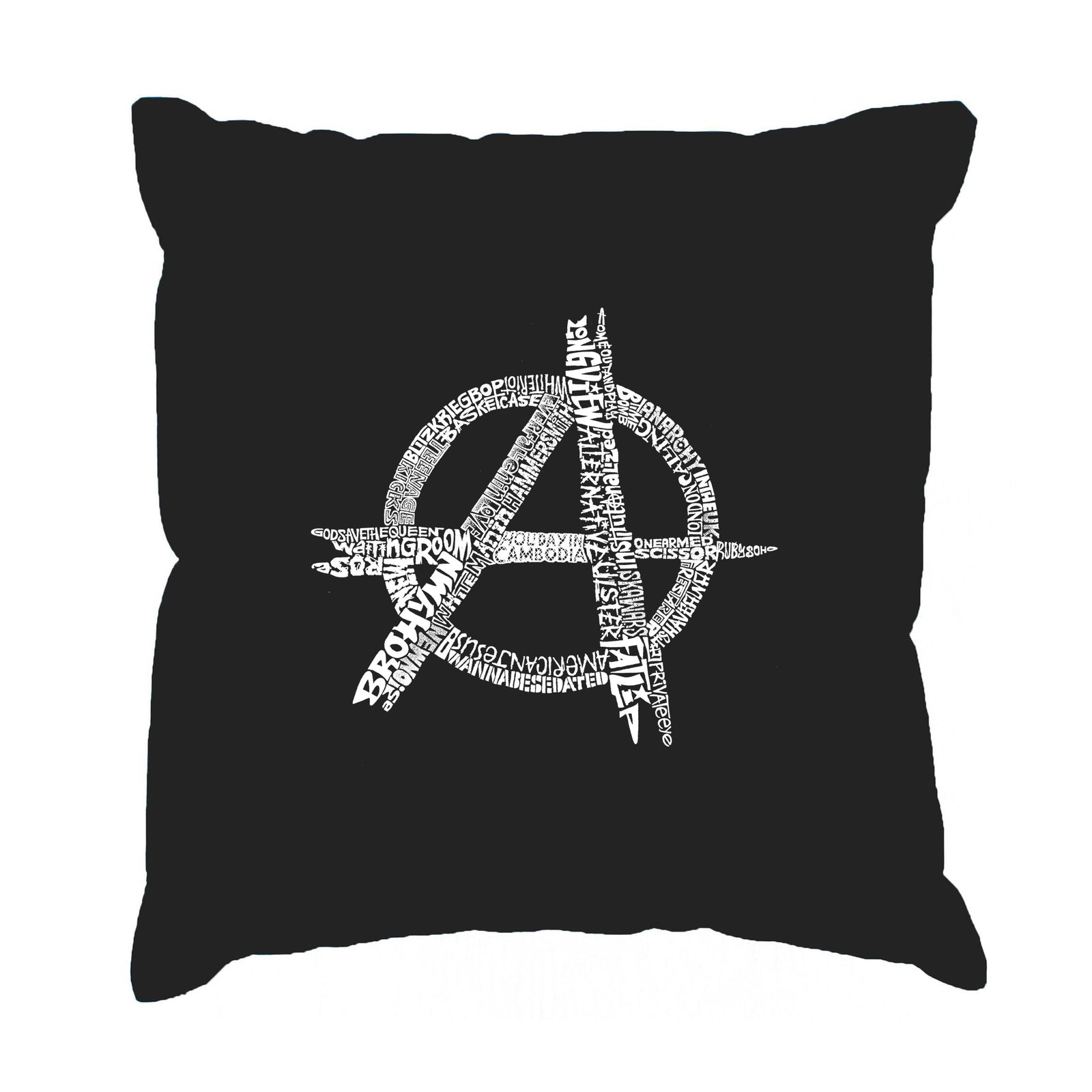 Throw Pillow Cover - GREAT ALL TIME PUNK SONGS