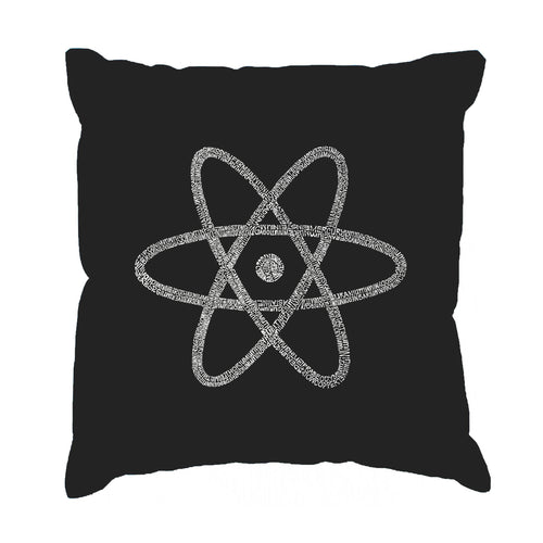 Throw Pillow Cover - ATOM